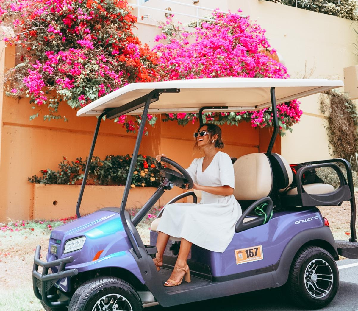 Amanda Antonella at Best Golf Car Rental